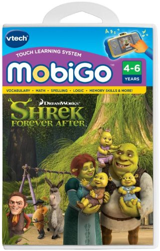 VTech - MobiGo Software - Shrek 4 Forever After - 1