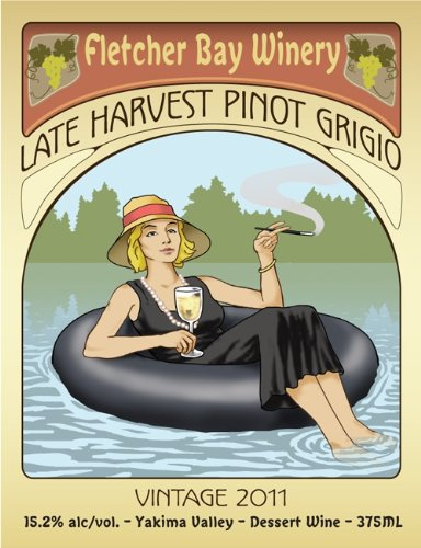 2011 Fletcher Bay Yakima Valley Late Harvest Pinot Grigio 375 Ml