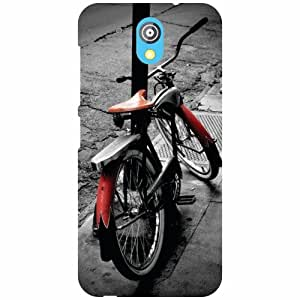 Printland Cycle Phone Cover For HTC Desire 526G Plus