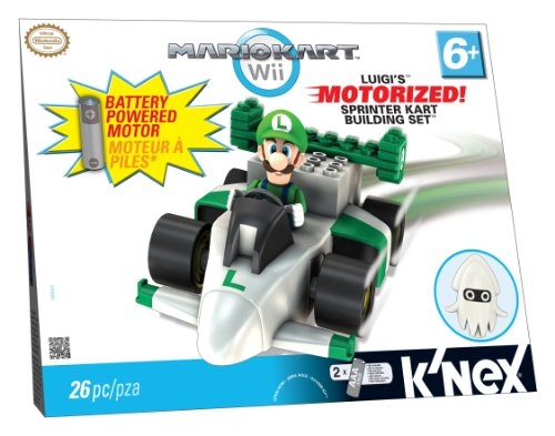 Nintendo Nintendo Luigis Motorized Sprinter Building Set