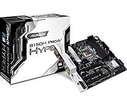 Asrock B150M Pro4 Hyper LGA1151 - 6th/7th Generation Supported Motherboard (Latest BIOS Updated)