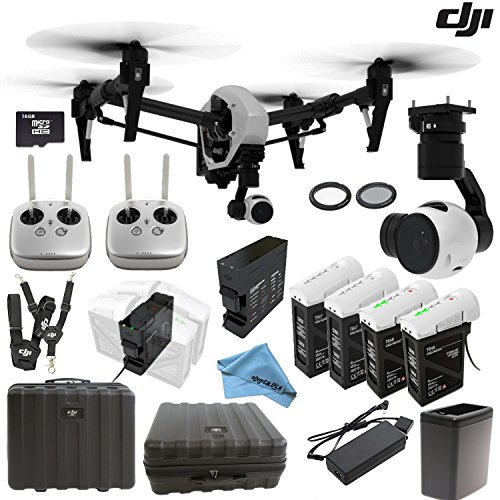 DJI-Inspire-1-Version-20-w-eDigitalUSA-Customer-Choice-Package-Includes-2-Controllers-Extra-TB47-Battery-2-Spare-TB48-Batteries-Battery-Heater-Charging-Hub-and-more