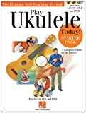 Play Ukulele Today! Starter Pack with Level 1, Level 2, & DVD (Book/2-CD/DVD)