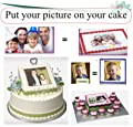 * Hot Item * Your Photo Image & Text Cake Decoration Topper