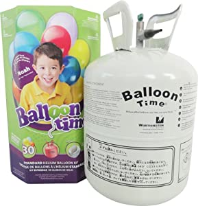 Standard Helium Balloon Kit Party Accessory by Worthington Cylinders