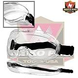 Neiko 53875b anti-vaho anteojos de seguridad con wide-vision | anti-vaho)