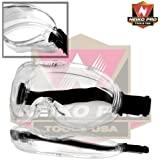 Neiko® 53875B Anti-Fog Safety Goggles with Wide-Vision   ANSI Z87.1 Approved