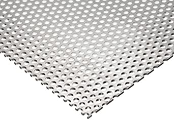 Aluminum 3003-Super Spring Perforated Sheet