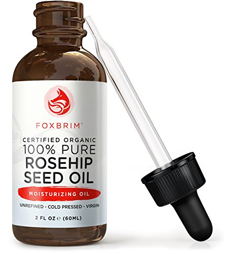 100-Pure-Organic-Rosehip-Seed-Oil-Virgin-Cold-Pressed-and-Unrefined-Perfect-for-improving-Hair-Skin-Nails-and-Fading-Wrinkles-Stretch-Marks-Scars-MORE-Rich-in-Omega-Fatty-Acids-Vitamins-A-C-Foxbrim-2O