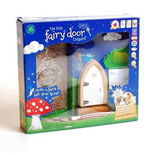 the-irish-fairy-door-hiver-blanc-fee-porte