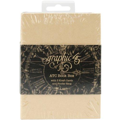 Cassetta di Staples Atc schede libro - Kraft
