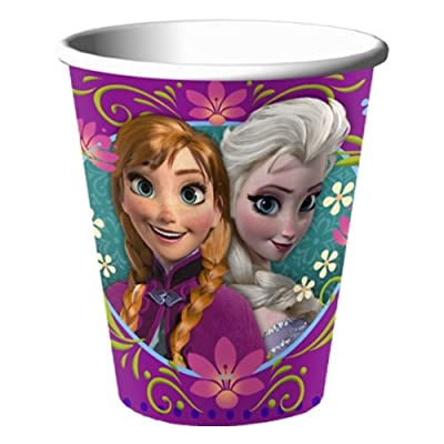 Disney's Frozen Party 9oz Hot/Cold Cups. One package of 8 Disney's Frozen Party 9oz Hot/Cold Paper Cups.