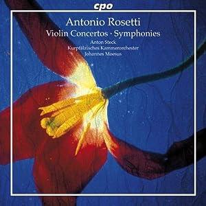 Rosetti: 2 Violin Concertos/ Symphony