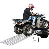 "Aluminum 82"" x 44"" Folding ATV Loading Ramp"
