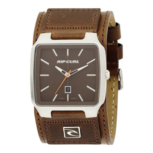 Rip Curl Men's A2323-CHO Newport Leather Chocolate Watch