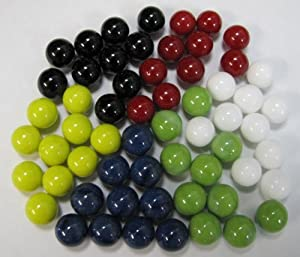 Marbles for Chinese Checkers, 60 pc.