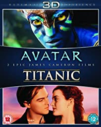 James Cameron\'s Avatar / Titanic Blu-ray 3D Double Pack