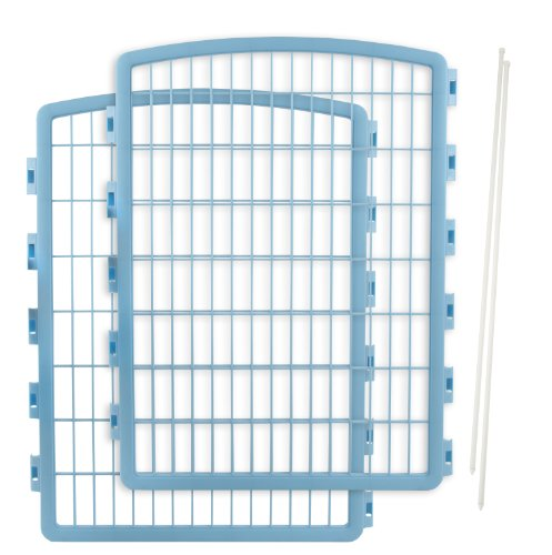 IRIS 2-Piece Add-on kit for CI-908 Indoor/Outdoor Pet Pen for Dogs, Blue