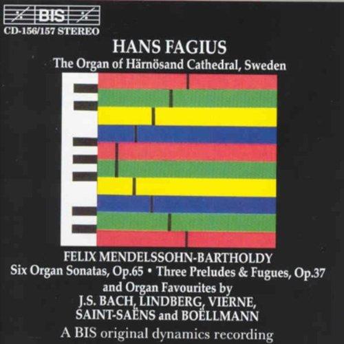 Six Organ Sonatas Op. 65/Three Preludes & Fugues O