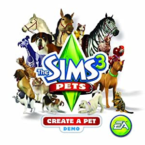 Sims 3 Create-A-Pet Demo [Mac Download]