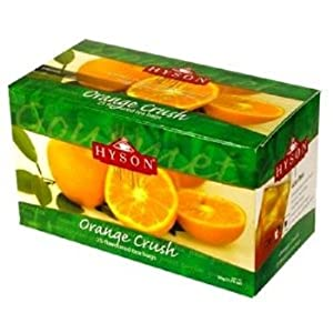 hyson filter bag tea orange crush 25 count pack of 6 black teas grocery. Black Bedroom Furniture Sets. Home Design Ideas