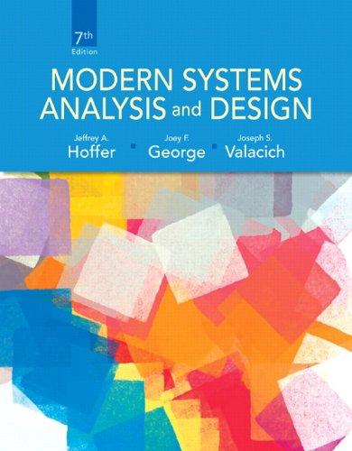 Free Download Modern Systems Analysis And Design 7th Edition By Jeffrey A Hoffer Joey George Joe A Valacich Ebook Pdf Online Ninoslav Victorasx