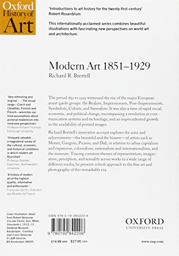 Modern Art 1851-1929: Capitalism and Representation (Oxford History of Art)