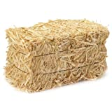Miniature Authentic Hay Bale (Color: Wheat)