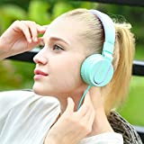 Ailihen-I35-Stereo-Lightweight-Foldable-Headphones-Adjustable-Headband-Headsets-with-Microphone-35mm-for-Cellphones-Smartphones-Iphone-Laptop-Computer-Mp34-Earphones