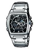 [カシオ]CASIO 腕時計 EDIFICE エディフィス アナデジ 温度計 メンズ EFA-120D-1AV [並行輸入品]
