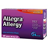 Allegra Adult 24 Hour Allergy Relief, 45-Count