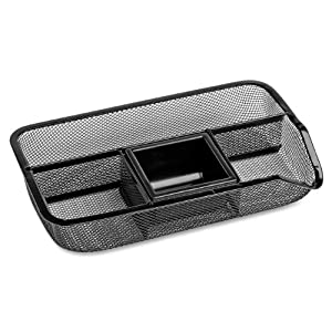 Rolodex Mesh Collection Drawer Organizer, Black (22121)