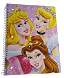 Disneys Princess Spiral Notebook - Princess Spiral Bound Notebook