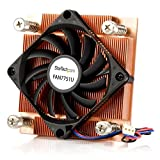StarTech.com 1U Low Profile 70mm Socket 775 CPU Cooler Fan with Heatsink and TX3