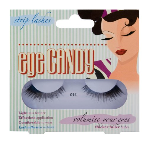 Eye Candy Strip Lashes 014 Volumise 50's Look Natural False Lashes