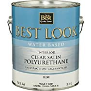 - W64F00802-16 Best Look Water-Based Polyurethane-INT W/B SAT POLYURETHANE