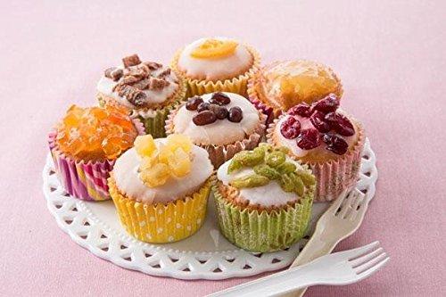 ホシフルーツ パステルミニカップケーキ 1015540 HFPS-12 軽食品 スイーツ・お菓子