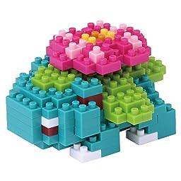 Japan Nano Blocks - Nano block Pokemon Venusaur NBPM-018 *AF27*