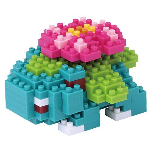 Kawada-de-tamao-micro-bloque-de-construccin-nanoblock-NBPM-018-Pokemon-Fushigibana-160-piezas-Grado-de-dificultad-Fcil-2-sobre-5-difcil