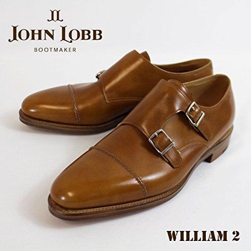 (ジョンロブ)JOHNLOBB john-002 ダブルモンク William ウイリアム 2 Beige ブーツ メンズ