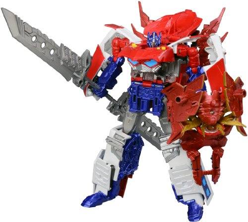 Transformers Go! G26 Optimus expriming
