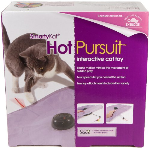 SmartyKat Hot Pursuit Cat Toy Concealed Motion Toy (Remote Control Mouse compare prices)