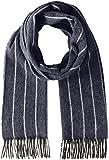 (ドレイクス)DRAKE'S マフラー Chalk Stripe Scarf AL01.16501  004 NAVY/ECRU ONE