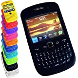 Gel Silicone Keypad Case Cover for Blackberry Curve 8520 8530 9300 9330 - Black