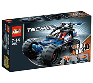 LEGO Technics - Off-road Racer - 42010 42010 (The rugged Off-Road Racer is the perfect introduction to the exciting world of LEGO® Technic building... )