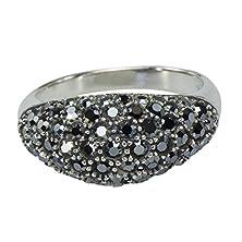 buy Vintage Art Nouveau Cz V Shaped Wrap 925 Sterling Silver Deco Ring