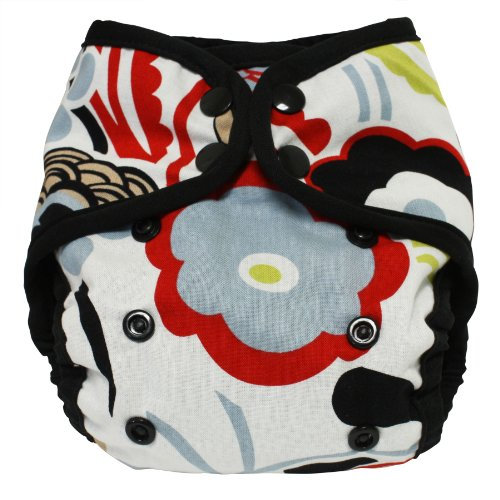 Planet Wise Diaper Cover, Art Deco, Size 2 front-297631
