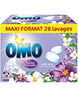 OMO Lessives Tablettes Douceur de Fleurs 56 Tablets Lot de 2