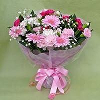 52【父の日ギフト6/13から6/15のお届け】スタンド型花束・ブーケ型アレンジメント・ピンク系