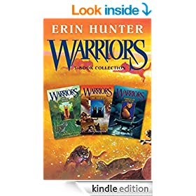 Warriors 3-Book Collection with Bonus Material: Warriors #1: Into the Wild; Warriors #2: Fire and Ice; Warriors #3: Forest of Secrets